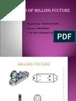 DESIGN OF MILLING FIXTURE