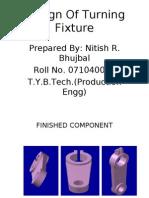 Design Of Turning Fixture