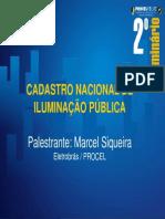 8 - Cadastro Nacional de Iluminação Pública - Marcel Siqueir