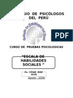 97027390 Escala de Habilidades Sociales