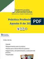 Práctica Profesional 2014-2