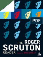 DOOLEY, Mark. the Roger Scruton Reader