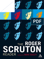 DOOLEY, Mark. the Roger Scruton Reader