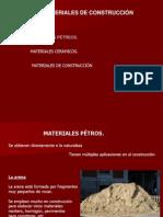 U.T. 4. Materiales de Construcción
