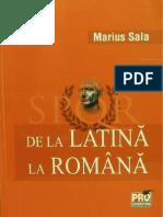 De La Latina La Romana, Marius Sala, 2012