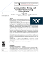 Exploring online dating and customer relationship management