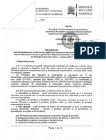 Proceduri Concurs 2014