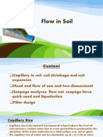 Flow in Soil