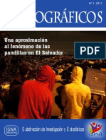 Cuaderno Monográfico de Pandillas