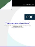 7 Claves Para Tener Exito en Internet