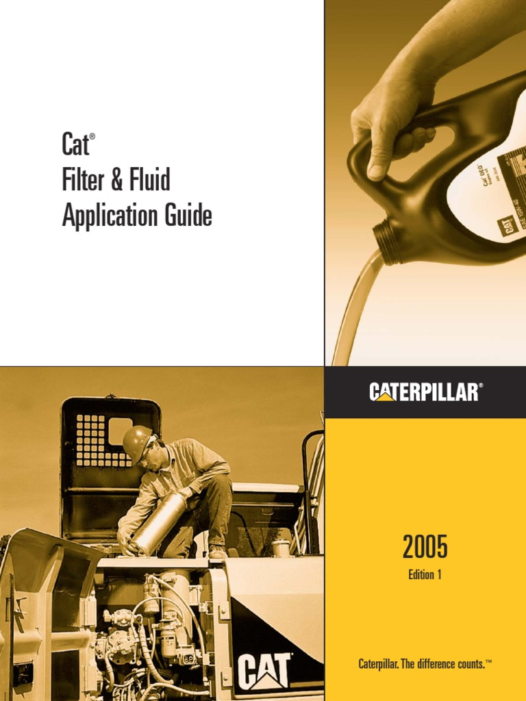 212481008 cat filter and filter application guide filtration engines
