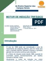 Apresentação Motores de Indução