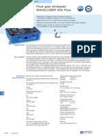 s540 Flue Gas Analyser Maxilyzer Ng Plus