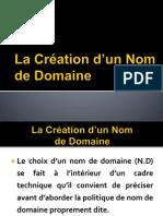 Choix Nom de Domaine