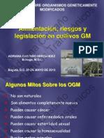 Seminario sobre organismos genéticamente modificados