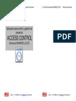 Manual Software Acces Control ADVANCED-ELITE