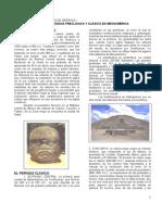 FICHA 10. EL PRECLÁSICO Y EL CLÁSICO EN MESOAMÈRICA
