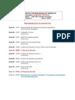Programação Aulas_desenho Técnico_turma 10-10