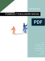 Pobreza y Exclusion Social