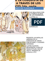 FICHA 19. RELATO DE LA CONQUISTA DE MEXICO A TRAVES DE LOS CODICES 2da parte