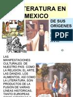 FICHA 24. LA LITERATURA EN MÉXICO parte 1