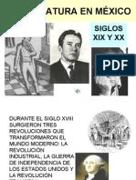 FICHA 25. LA LITERATURA EN MÉXICO segunda parte