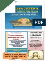 Gaceta Juvenil Ecb Nº 66 - Julio 2014