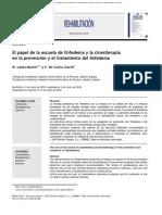 El Papel de La Escuela de Linfedema y La Cinesiterapia en La Prevención y El Tratamiento Del Linfedema