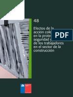 Cuadernos de Investigación Nº48 Efectos de La Acción Colectiva en La Protección, Seguridad y Salud de Los Trabajadores en El Sector de La Construcción