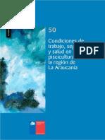 Cuadernos de Investigación Nº50 Condiciones de Trabajo, Seguridad y Salud en Pisciculturas de La Región de La Araucanía