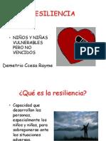 La Resiliencia en El Marco Del Buen Desempeño Docente