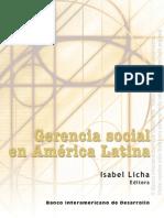 Gerencia Social en AL-BID-311- Super