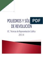 Poliedros y Sólidos de Revolución