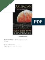 Carl Sagan - Pale Blue Dot - A Vision of the Human Future in Space (Ballantine, 1994, 1997)
