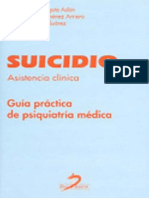 Suicidio Asistencia Clinica Guia Practica de Psiquiatria Medica