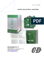 CD Application Notes