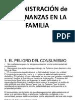 Administración de Las Finanzas en La Familia