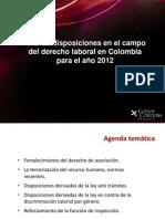 El Delito de Persecucion Sindical - 2012