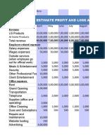 Brio Financial Plan