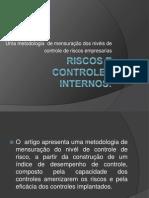 Riscos e Controles Internos