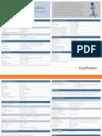 AVEA Comprehensive Spec Sheet RC0106-01