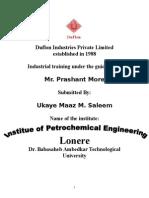 training report on PTFE