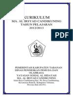Halaman Judul  Kurikulum 2012-2013
