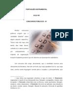 6 Concurso Publico - Português - Direito - Aula06