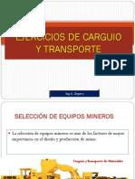4- Ejercicios de Carguio-transporte