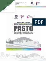 Proyecto de Acuerdo Pot Pasto 2014 2027