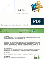 Glosario ISO 27001