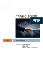Franchising Project
