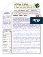 LCPS News E Bulletin July 2014