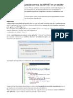 Cómo Forzar La Configuración Correcta de ASP